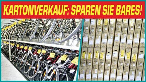 Sparen Sie Bares beim Bike Reiter Lagerverkauf