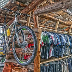 Die Bike Reiter Almhütte